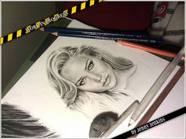 Jennifer Lawrence 2 - WIP 2 by thewholehorizon