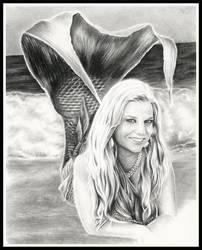 Trina the Mermaid by thewholehorizon