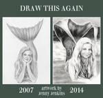 Draw This Again - Mermaids by thewholehorizon