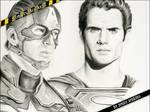 Work in Progress 3 - Superheroes by thewholehorizon