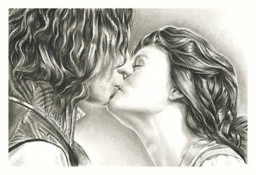 Rumbelle by thewholehorizon