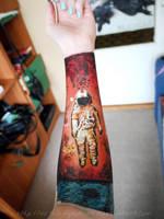 Brand New arm painting by mrsxbenzedrine