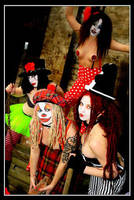 Psycho clowns II by Modelfaye