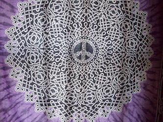 tye dye peace texture by watergal28-stock