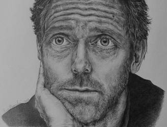 Hugh Laurie by EmmaHagersten
