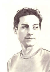 Tobey Maguire by weezie