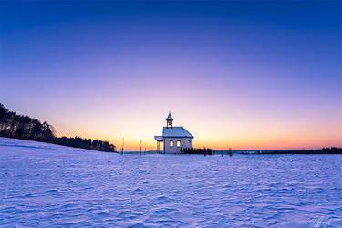 Cold Winter Evening by Sigurd-Quast