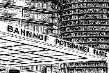 Berlin Series - Potsdamer Platz by Sigurd-Quast