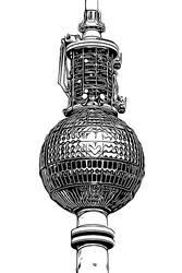 Berlin Series - TV Tower by Sigurd-Quast