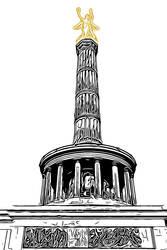 Berlin Series - Siegessaeule by Sigurd-Quast