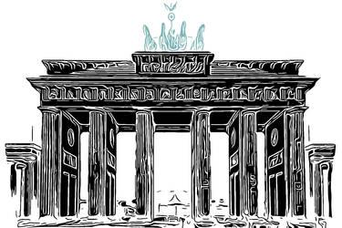 Berlin Series - Brandenburger Tor by Sigurd-Quast