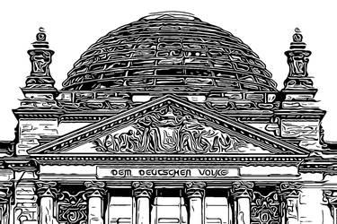 Berlin Series - Reichstag by Sigurd-Quast