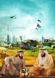 National Day of the UAE 40 by kelyshmoo5