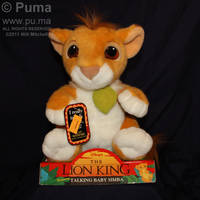 Mattel Talking baby Simba by dapumakat