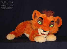 Kovu plush by Jemini France by dapumakat