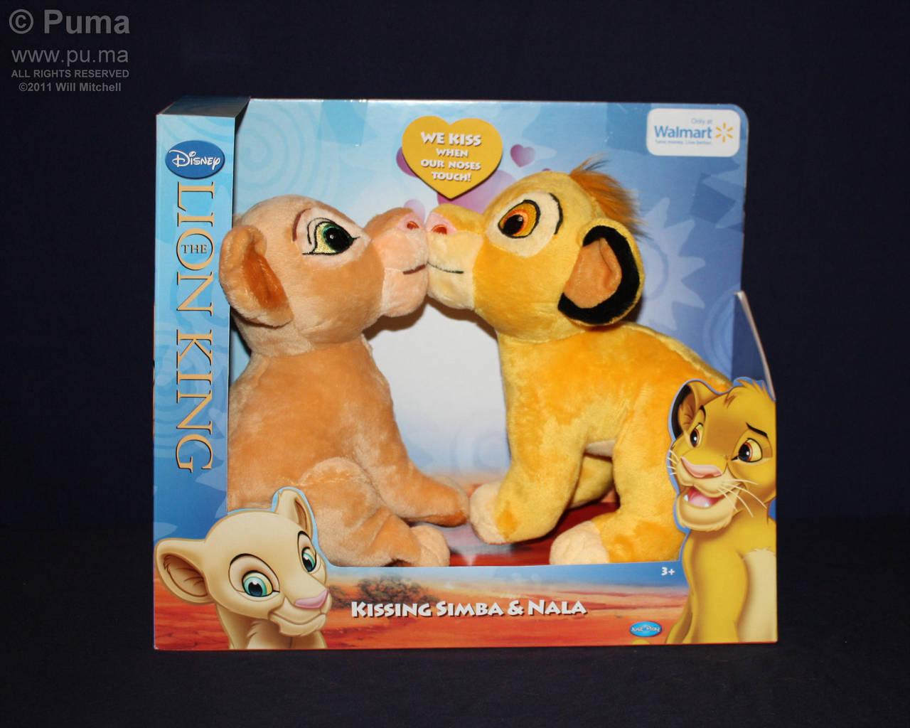 2011 Kissing Simba and Nala by dapumakat on DeviantArt