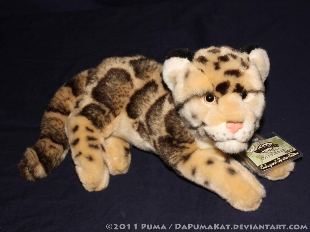 Webkinz Clouded Leopard Plush By Dapumakat On Deviantart