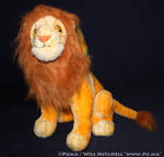 Lion King - Adult Simba Plush by Toyworld Germany by dapumakat