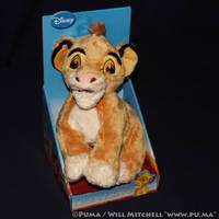 The Lion King - Cub Simba plush by JoyToy 2011 by dapumakat