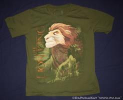 The Lion King - Disneystore 2012 Adult Simba shirt by dapumakat