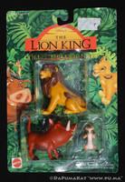 The Lion King - Adult Simba / Pumbaa - Mattel 1994 by dapumakat