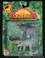 The Lion King - Circle of Life Figures - Elephants by dapumakat