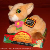 The Lion King - Purring baby Nala plush by Mattel by dapumakat