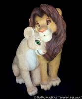 The Lion King - Adult Simba and Nala - Sandra Brue by dapumakat