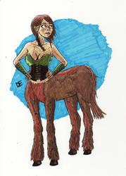 Centaur by dylan-erb