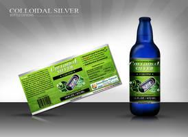 Collidal Silver Bottle Design by koushikh