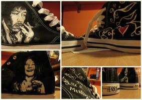 Hendrix n' Joplin sneakers by vvyk