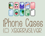 -Fantage C2U Custom iPhone Cases- by xBerrySilver