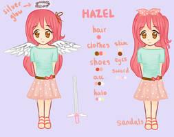 [MAIN OC] Hazel - Ref Sheet by xBerrySilver