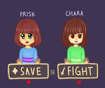 [UNDERTALE] SAVE the World by xBerrySilver