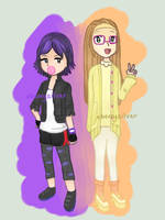 [BH6] Gogo and Honey Lemon by xBerrySilver