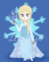 [Frozen] Snow Queen by xBerrySilver