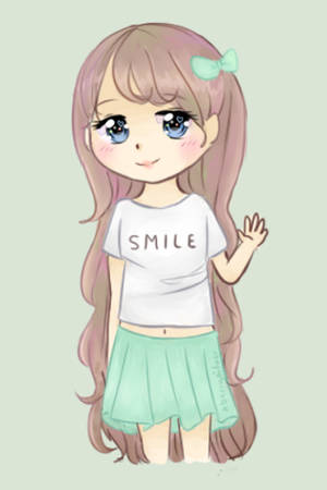 [Gift] Smile~ by xBerrySilver