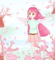 [OC] Blossoming Sky - Hazel by xBerrySilver