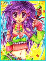 Colorful Ceci by MzzAzn