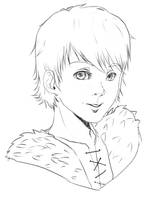 Free to use: Hiccup Sketch by MzzAzn
