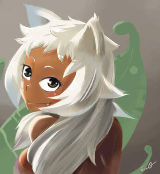 cat girl by TTTTTSO