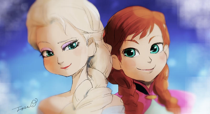Ana and Elsa by TTTTTSO