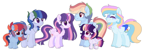 (MoonVerse) Twidash Family by CelestialMoonYT