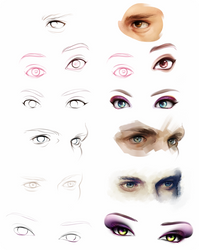 Eye Studies by riingo