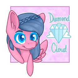 Diamond Cloud Icon GIFT by Stubborn-Dreamer