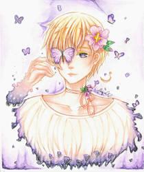 APH Norway ~Purple star~ by MiyajiYukki