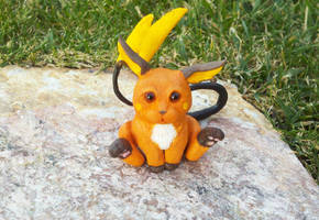 Raichu Sculpture by IllusionTree