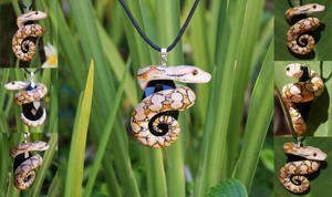 Reticulated Python Necklace by IllusionTree
