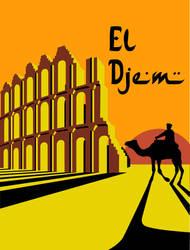 El Djem (Vector) by DecoEchoes