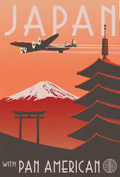 Japan with Pan Am by DecoEchoes